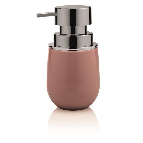 Porta-sabonete-Liquido-New-Belly-Cromo-Rosa-Ou
