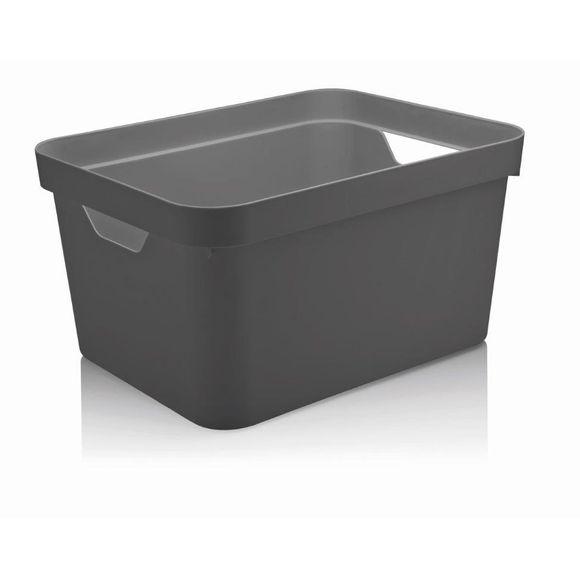 Caixa-Organizadora-Cube-G-Sem-Tampa-32-Litros-Chumbo-Ou