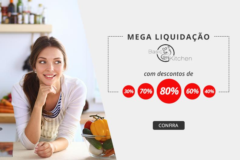 Promoção Basic Kitchen 80%