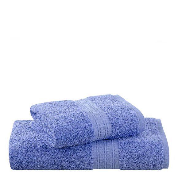 Toalha Banho Frape 70/135 Cm Cor 1242 -Azul
