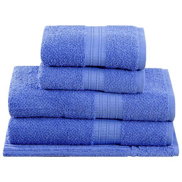 Jogo de Banho 5 Peças Frape 0.90 x 1.50 m Cor 1242 Azul
