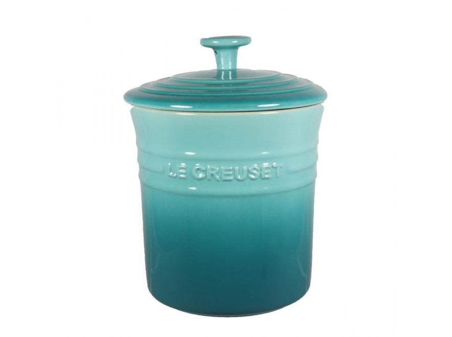 Porta Mantimentos Médio 3,8L Azul Caribe 9100781849   Le Creuset