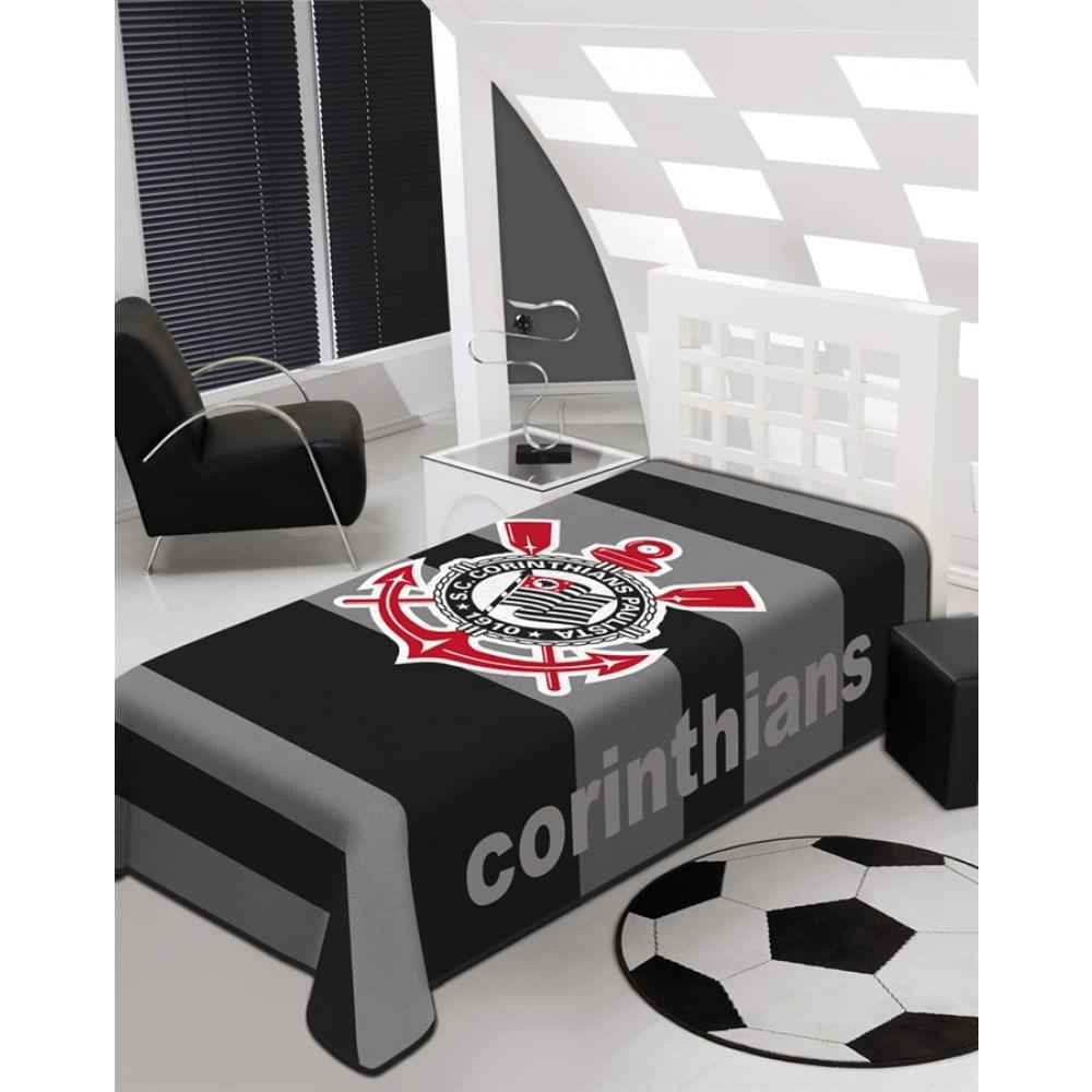 1da343b3b5 Cobertor Stadium Casal 1.80 x 2.20m Corinthians Jolitex - Doural