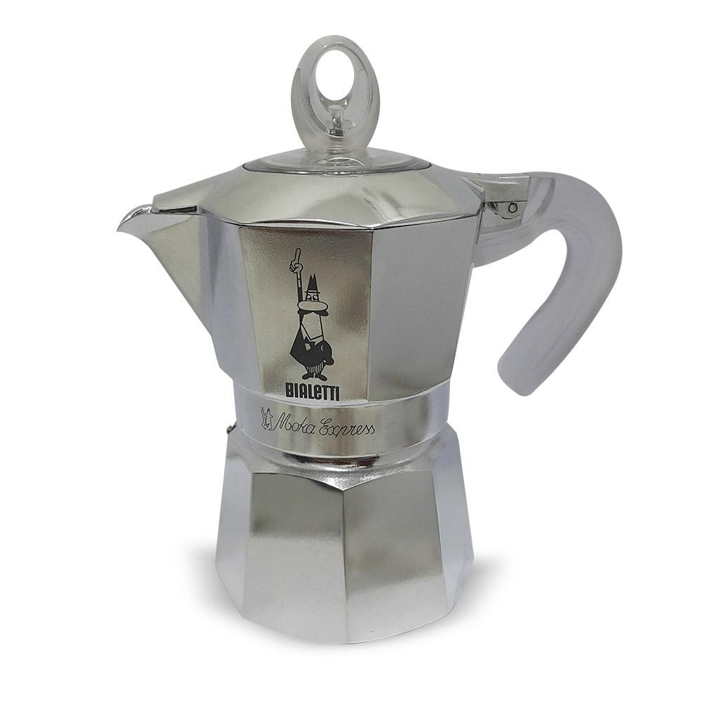 Cafeteira Moka 3 Xícaras Alumínio Bialetti Imeltron