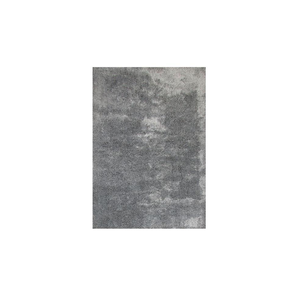 Tapete Chinês Microfibra Super Soft 1.40X2.00 Cinza Abdalla