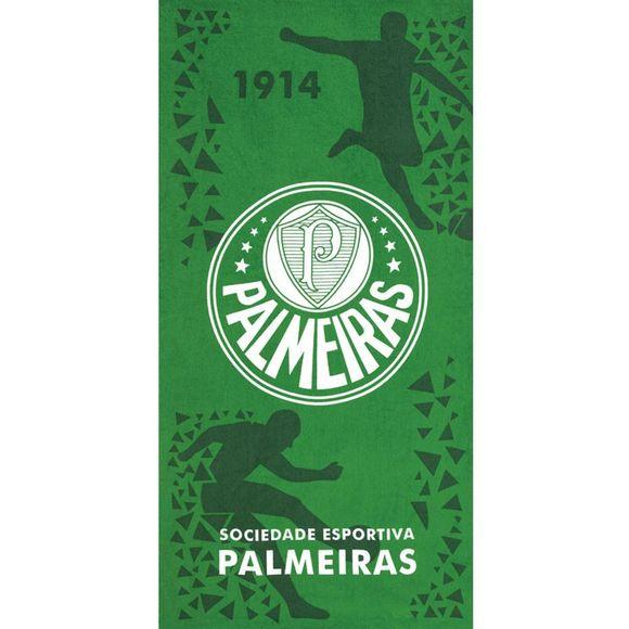 Toalha de Praia Velour Palmeiras 05 0,76x1,52 m Dohler