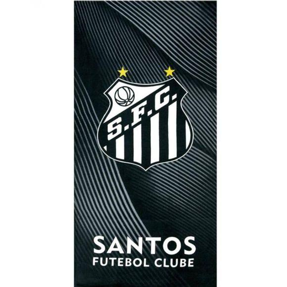 Toalha de Praia Velour Santos 08 0,76x1,52 m Dohler