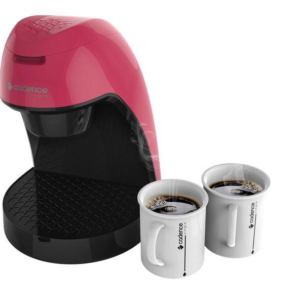 Cafeteira Colors 2 Cafes Caf217 220V Rosa Cadence