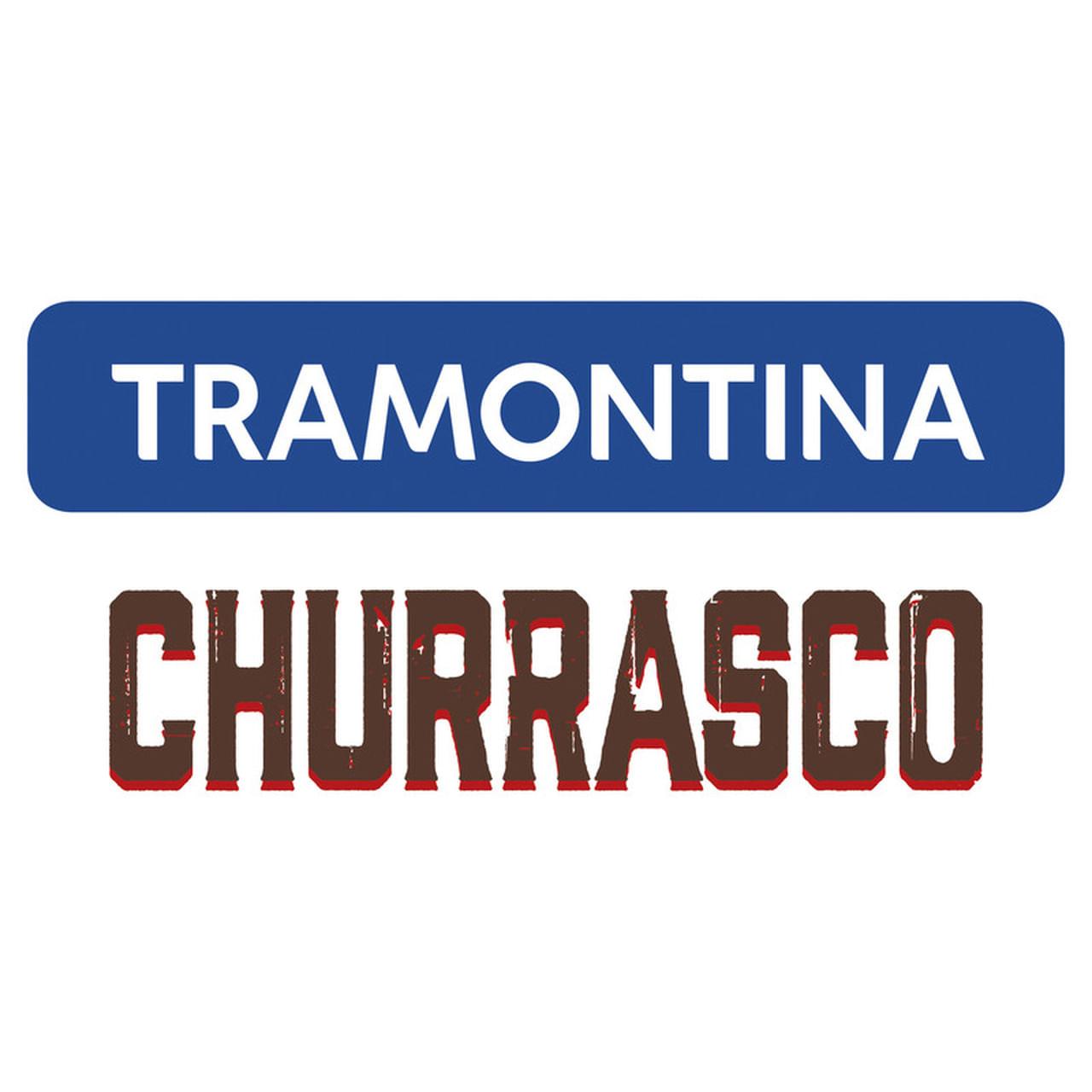 Jogo 12 Peças Churrasco Inox Polywood Castanho 21198976 Tramontina