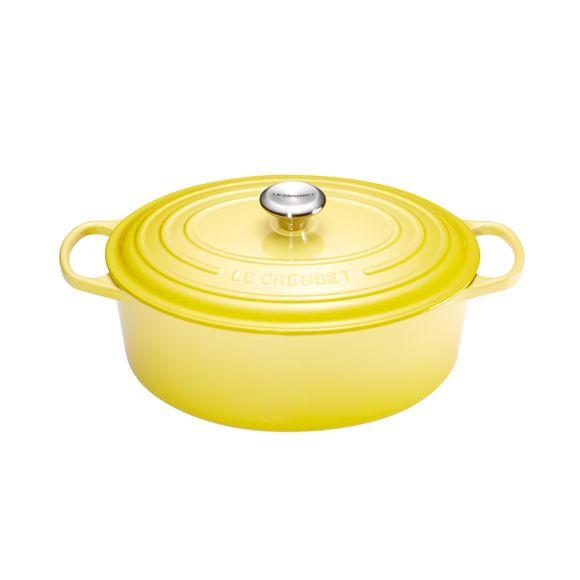 Panela-Oval-27Cm-Signature-Amarelo-Soleil-Le-Creuset