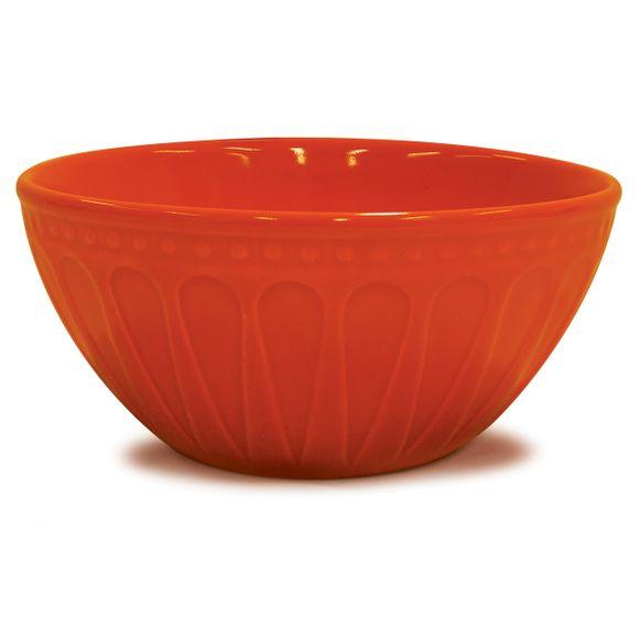 Bowl Alto Relieve Laranja Corona 550Ml Yoi