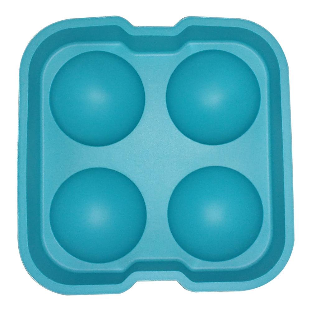 Forma De Silicone Para Bolo Tipo Palito Azul Claro