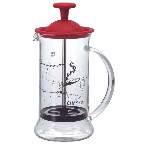 Prensa-Francesa-Vermelha-Para-Preparar-Cafe-240ML-Hario