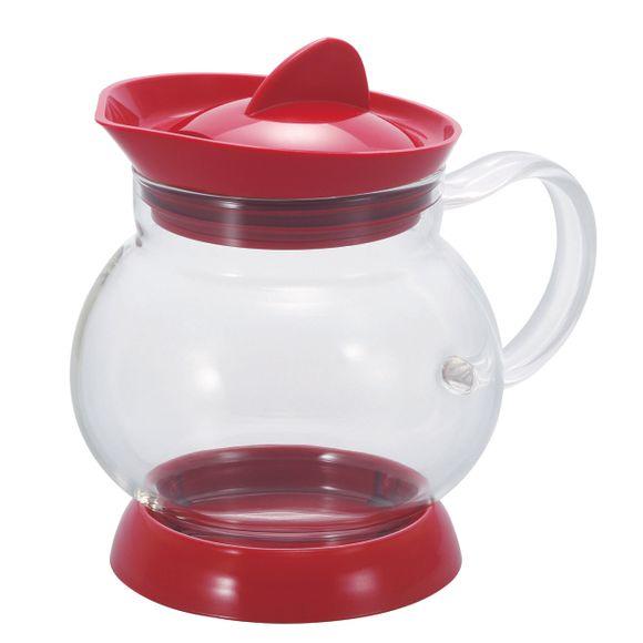 Bule-Para-Cha-Vidro-Com-Filtro-350ML-Vermelho-M-Hario