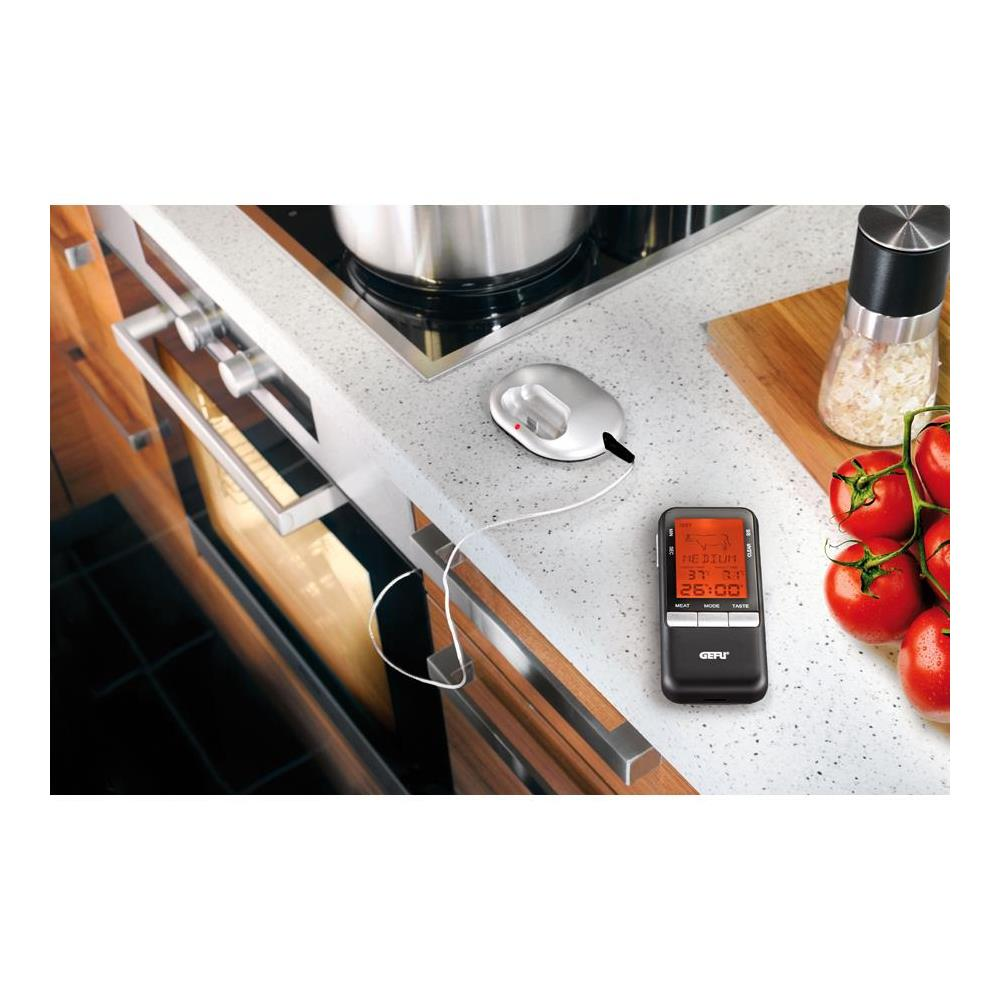 Termometro /Radio Digital Portatil Com Timer Gefu 21850