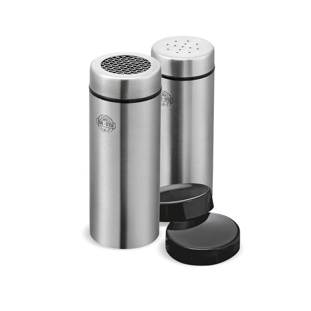 Conjunto Porta Condimentos /Polvilhador Inox