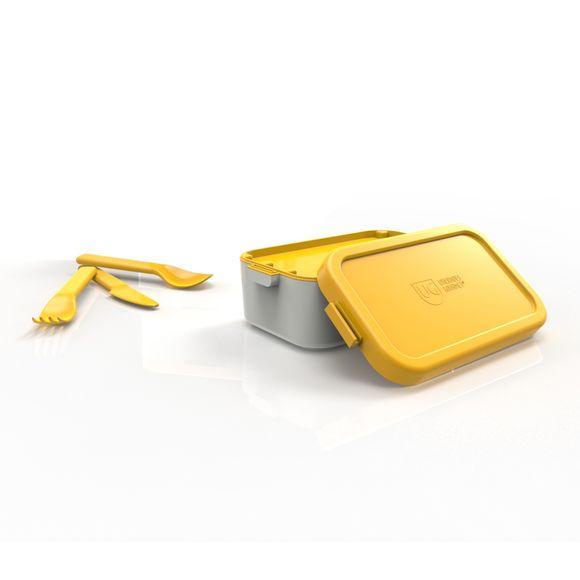 Bento-Box-Individual-Cinza-Com-Tampa-Amarelo-Anodilar