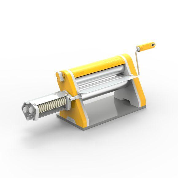 Cilindro-Laminador-Estilo-28Cm-Antiaderente-Amarelo-Com-Cortador-Anodilar