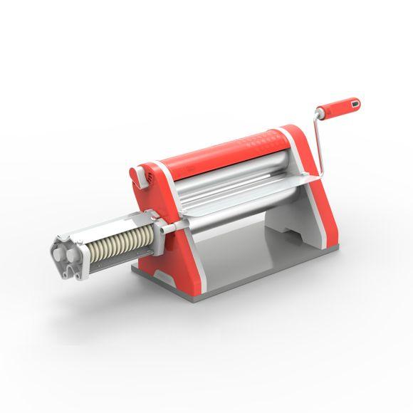 Cilindro-Laminador-Estilo-28Cm-Antiaderente-Vermelho-Com-Cortador-Anodilar