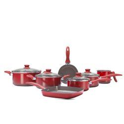 Conjunto-de-Panelas-7-pecas-Ceramic-Life-Smart-Vermelha-Brinox