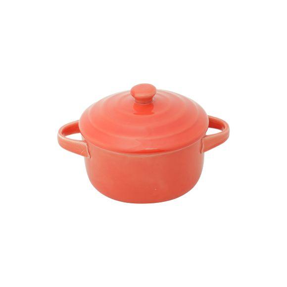 Cacarola-De-Porcelana-Farm-Vermelha-13X10X5Cm-Lyor