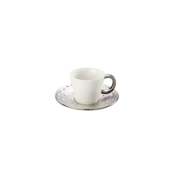 Conjunto 6 Xícaras Para Chá Com Píres Super White Drop 200ml Lyor