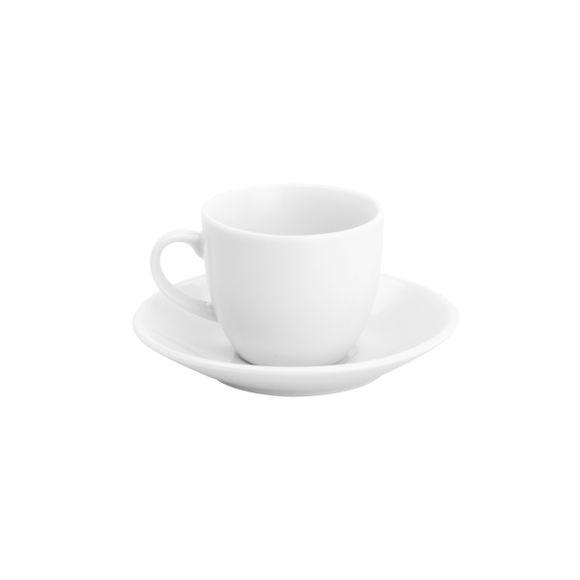 Xicara-para-Cafe-com-Pires-De-Porcelana-Basic-100Ml-Lyor