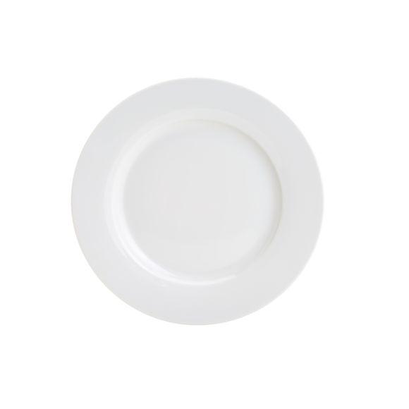 Prato Raso Porcelana Basic 26,5cm Lyor
