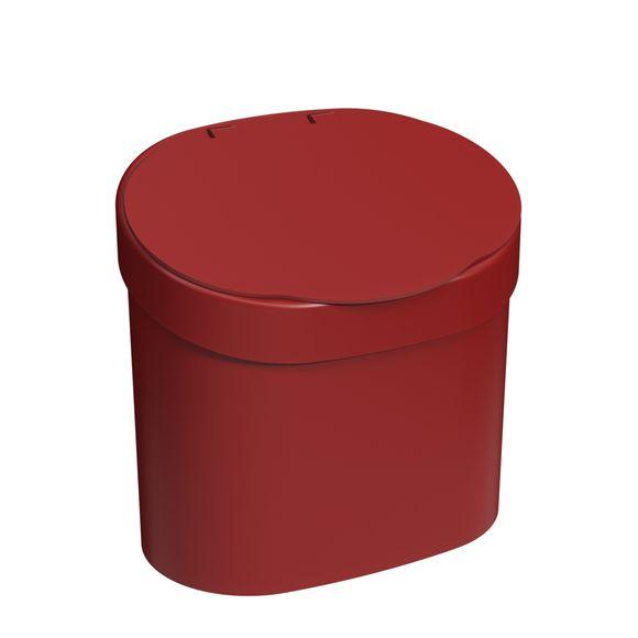 Lixeira-Com-Tampa-Para-Pia-4L-Vermelho-Bold-Coza