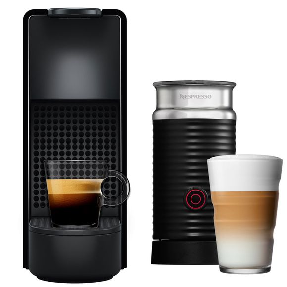 Combo-Essenza-Mini-Black---Aero3-220V-Nespresso