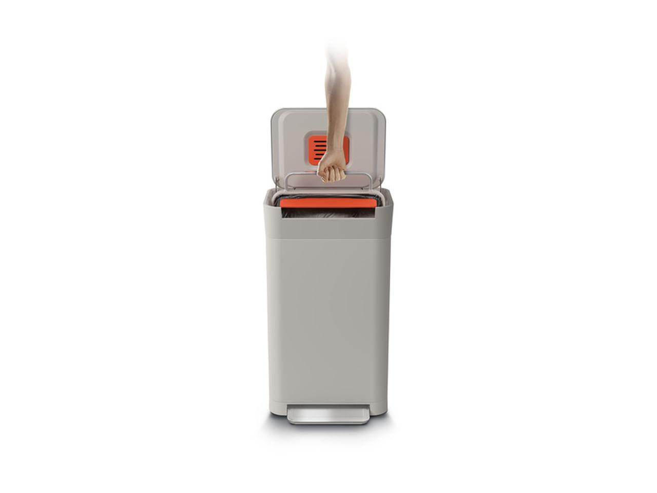 Compactador De Lixo 30L Cor Branca