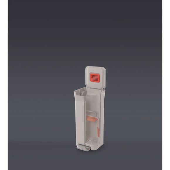 Compactador-de-lixo-20L-cor-branca