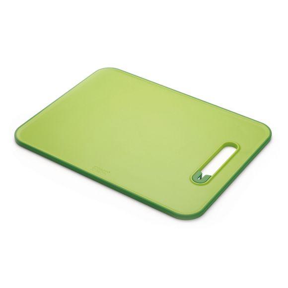 Tabua-de-cortar-com-afiador-de-facas-integrado---Verde