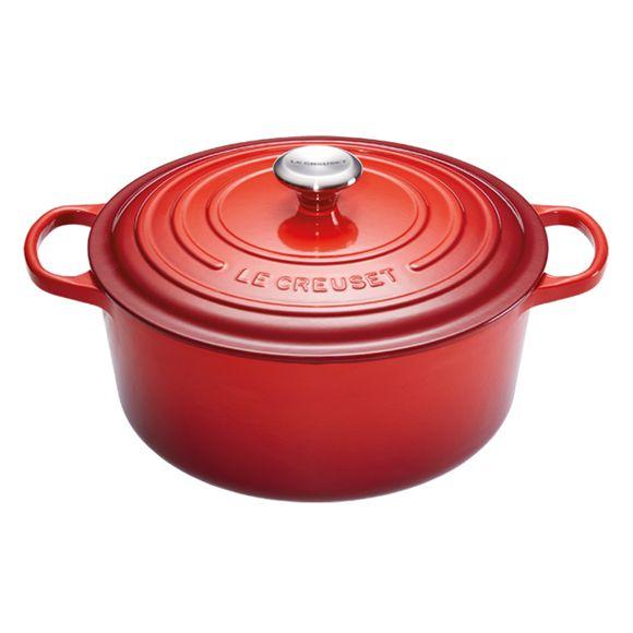 Panela-Redonda-34Cm-Signature-Vermelho-Le-Creuset