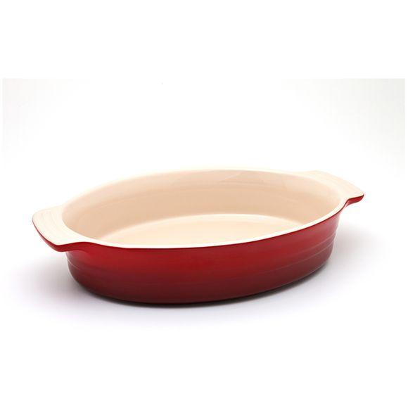 Travessa-Oval-28Cm-Vermelho-Le-Creuset