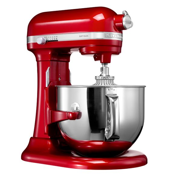 BATEDEIRA-STAND-MIXER-PRO-600-57L-PASSION-RED-220V