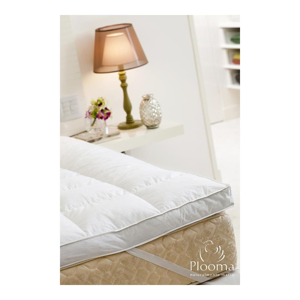 Pillow Top Casal 80% Pena 20% Pluma De Ganso Plooma