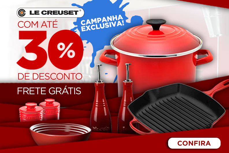 Le Creuset - exclusivo