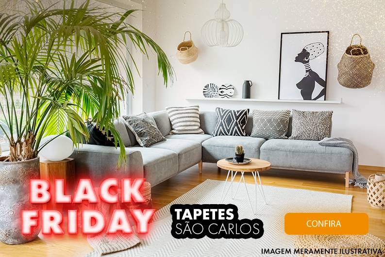 Black Friday - tapetes sao carlos
