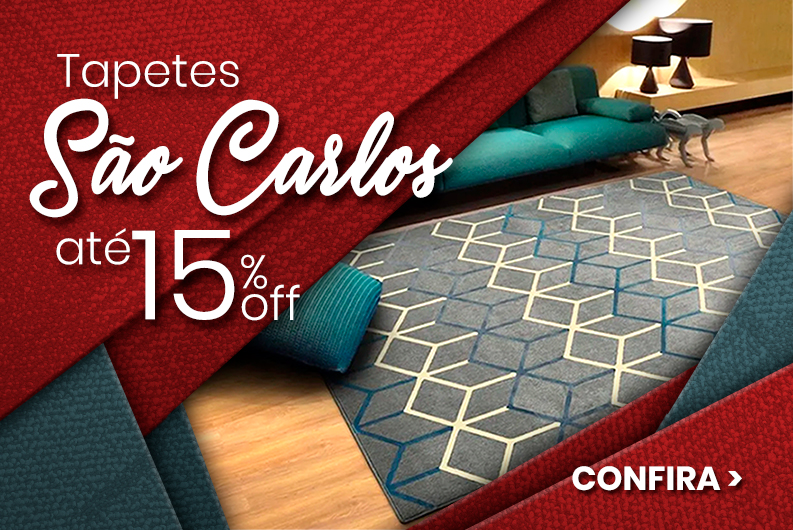 Banner - tapetes sao carlos