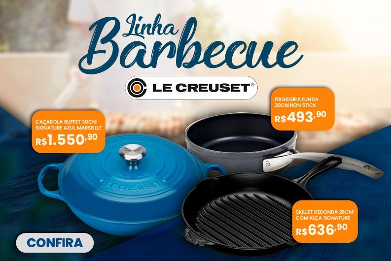 Banner - Le Creuset - Linha Barbecue