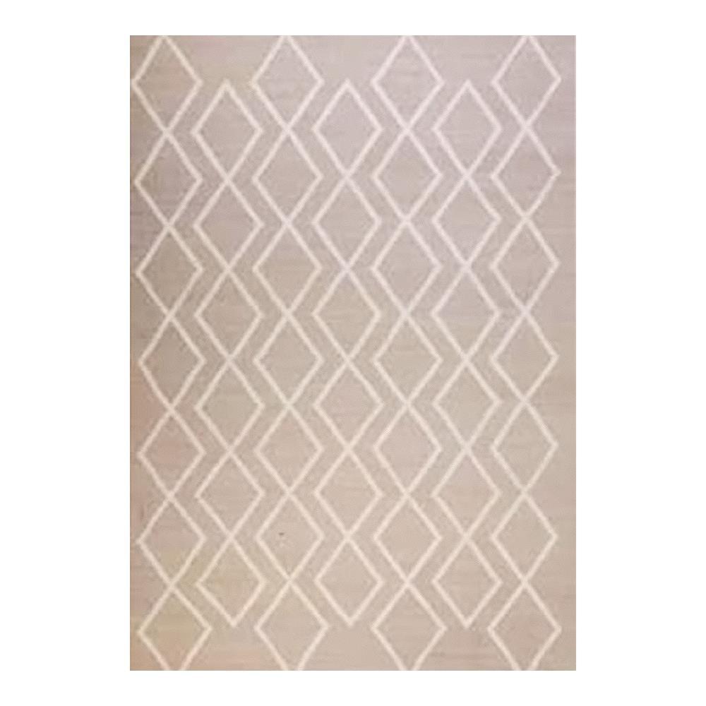 Tapete Indiano Kilim Bamboo Silk 0.70X2.40 2 Marfim Abdalla