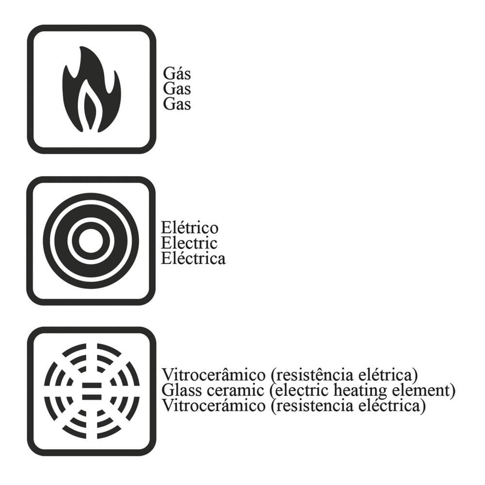 Chaleira Alumínio 1.9L Vermelho Paris 20550719 Tramontina