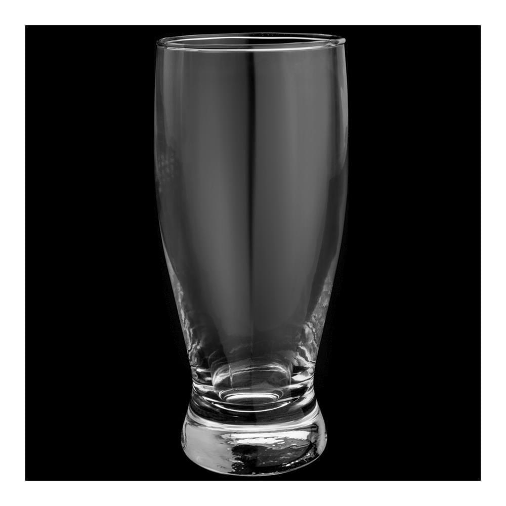Jogo 6 Copos Para Cerveja De Vidro 340Ml