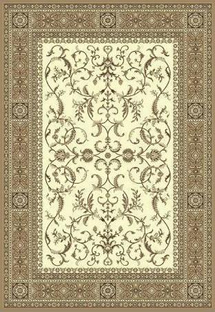 Tapete Belga Vênus Clássico 0.60x1.90 4587 Marfim Abdalla