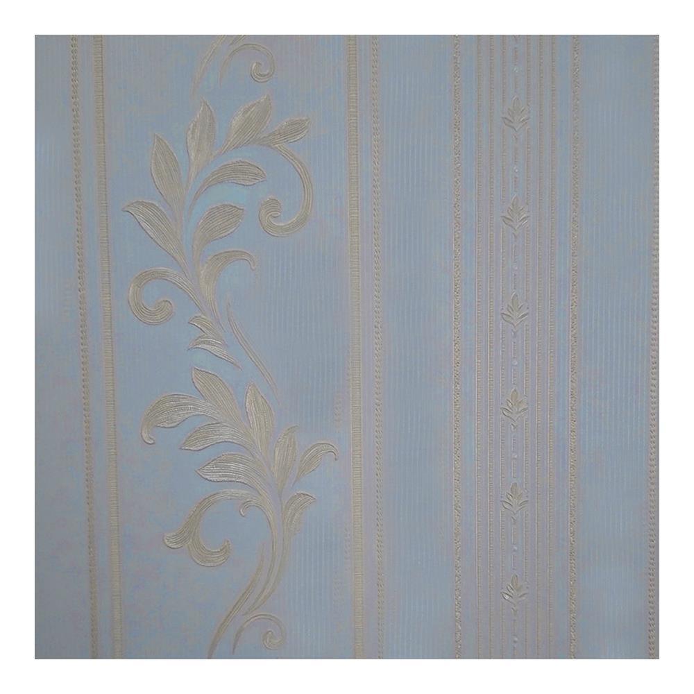 Papel De Parede Requinte 0.53X10M Azul JA32-04 Abdalla