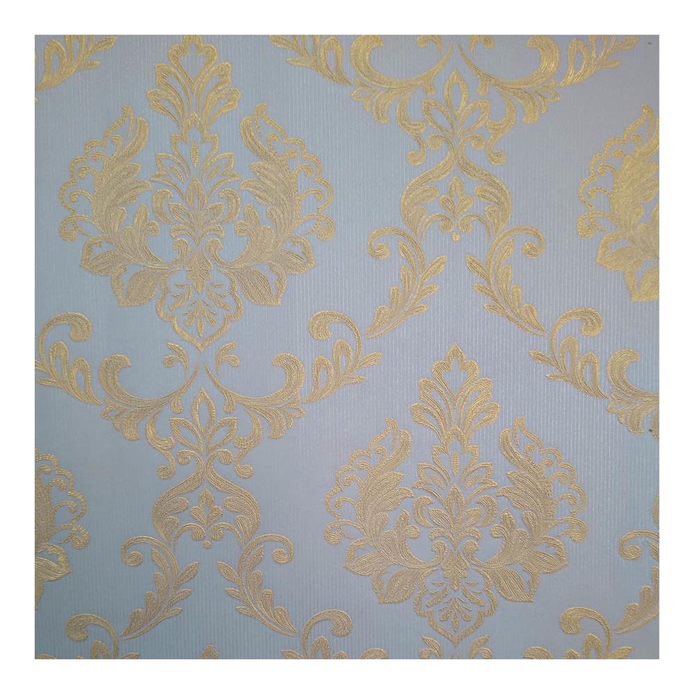 Papel De Parede Requinte 0.53X10M Azul JA33-04 Abdalla
