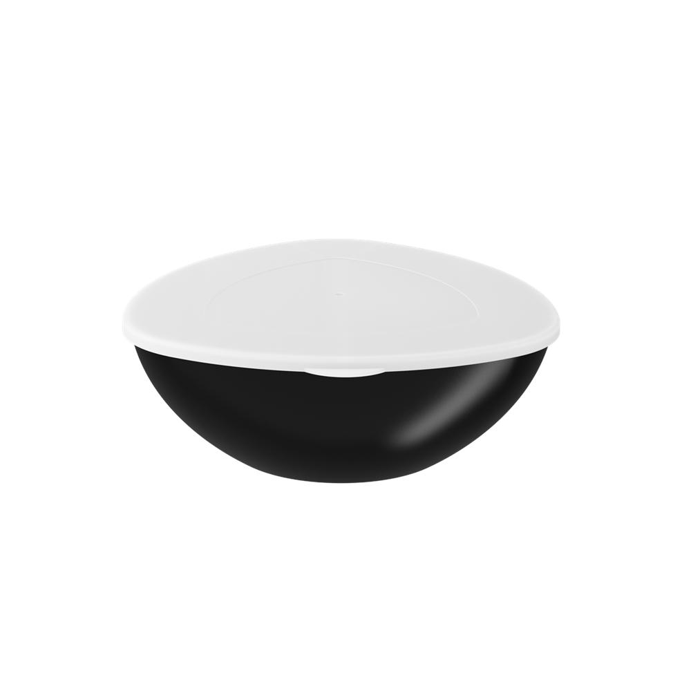 Saladeira Triangular Com Tp Essential 3.5L Pt