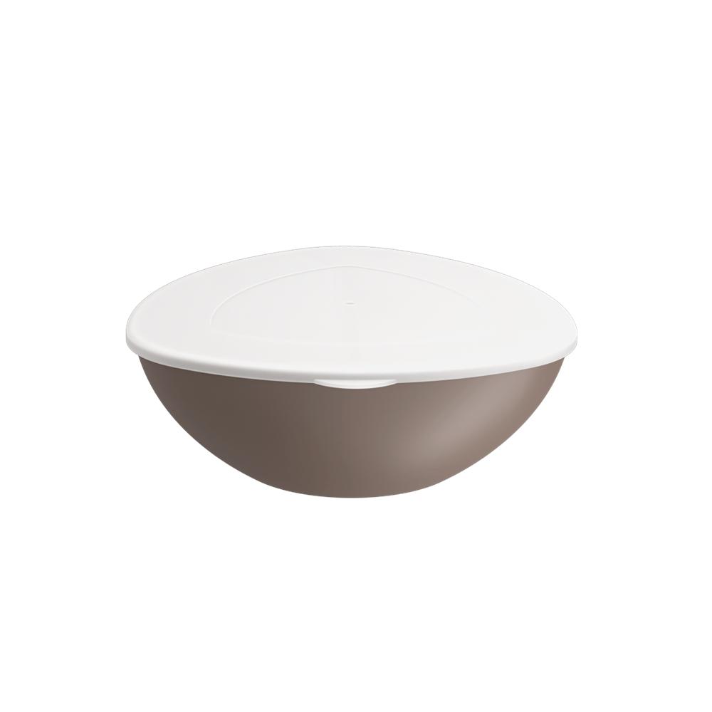 Saladeira Triangular Com Tp Essential 3.5L Wgr