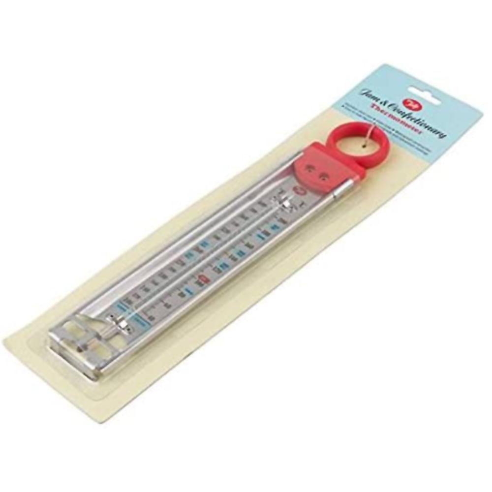 Termômetro Vermelho Para Compotas E Caldas Tala